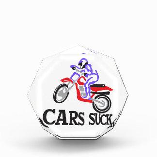 Cars Suck Acrylic Award