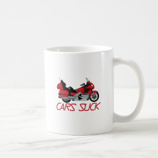 Cars Suck Coffee Mug