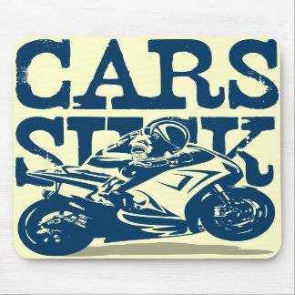 Cars Suck - GP Mouse Pads