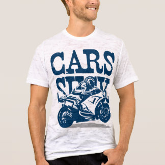 Cars Suck - GP Style (dark marine) T-Shirt