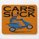 Cars Suck - Scooters Mouse Pads