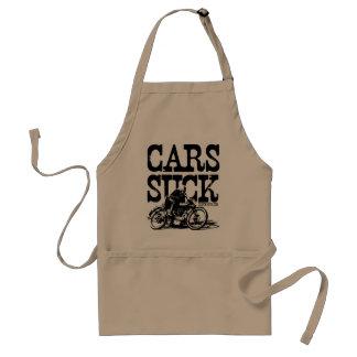 Cars Suck - Vintage Apron