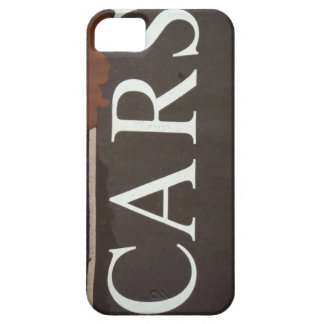 CARS Tow Truck Vintage Car Sign iPhone 5/5S Case