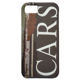 CARS Tow Truck Vintage Car Sign iPhone 5/5S Cases