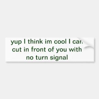 cars trucks car bumper sticker