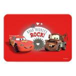 Cars Valentine Card