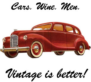 Cars Wine Men Vintage Is Better Birthday Card
