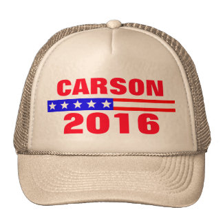 Carson 2016 Presidential Election Campaign Trucker Hat