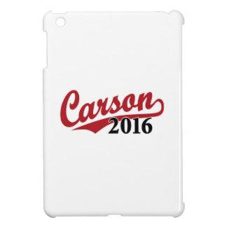 Carson 2016 red iPad mini covers