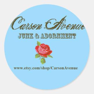 Carson Avenue Stickers
