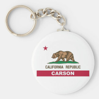 Carson California Keychain