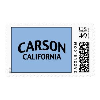 Carson California Postage Stamp
