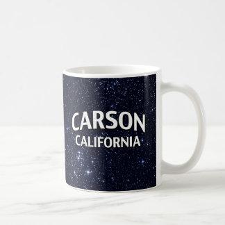 Carson California Taza