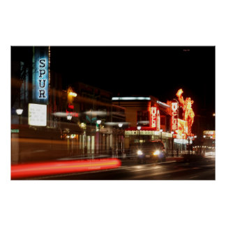 Carson City at Night Poster