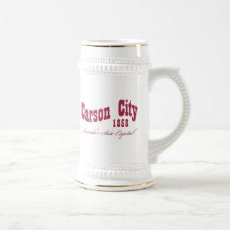 Carson City, nanovoltio - 1858 Taza