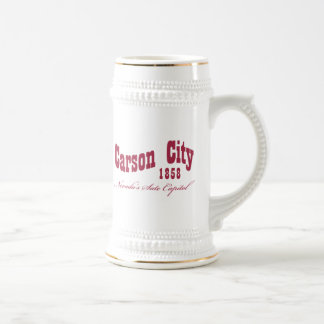 Carson City, NV -  1858 Beer Stein