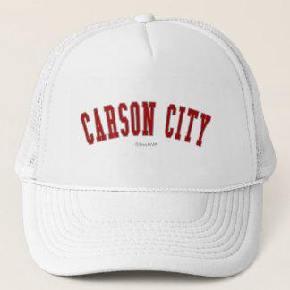 Carson City Trucker Hat