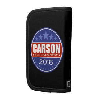 Carson for President 2016 Folio Planners