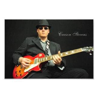 Carson Stevens w/guitar Art Photo