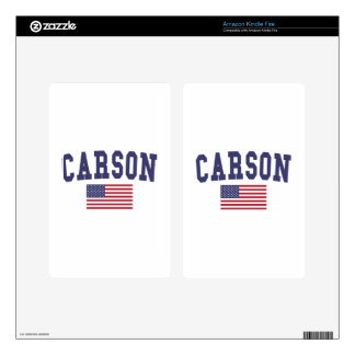 Carson US Flag Skin For Kindle Fire