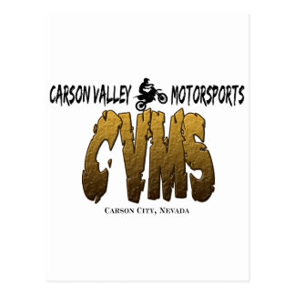 Carson Valley MotorSports Postcard
