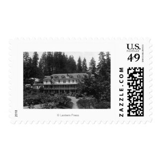 Carson, WA Shipherd's Springs Hotel View Postage Stamp