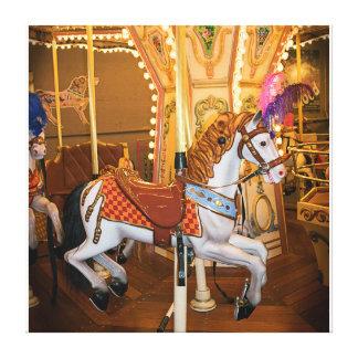Carsouel Horse Canvas Print