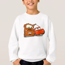Cars's Lightning McQueen and Mater Disney Sweatshirt