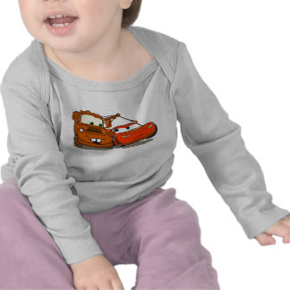 Cars's Lightning McQueen and Mater Disney Tee Shirts