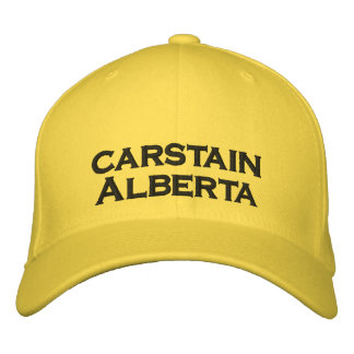 carstain Alberta Canada Hat Embroidered Hats