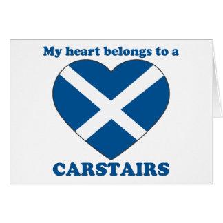 Carstairs Card