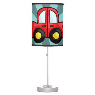 Cart cartoon table lamp