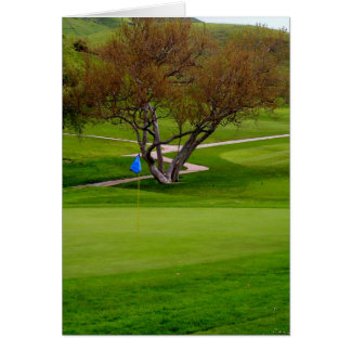 Cart Path to Number 9 Card