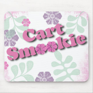 Cart Smookie Spoonerism Mouse Pad
