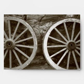 Cart wheels envelope