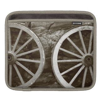 Cart wheels iPad sleeve