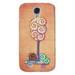 Cart with Magical Tree and Bench Samsung Galaxy S4 Covers