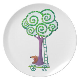Cart with Magical Tree Plates