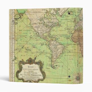 "Carta 1778 de Bellin o mapa náutica del mundo Carpeta 1"""
