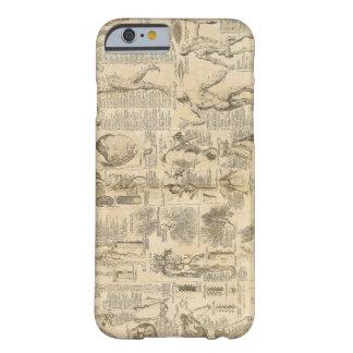 Carta anatómica de Cyclopaedia 1728 Funda Barely There iPhone 6