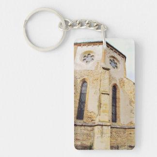 Carta cistercian church Double-Sided rectangular acrylic keychain