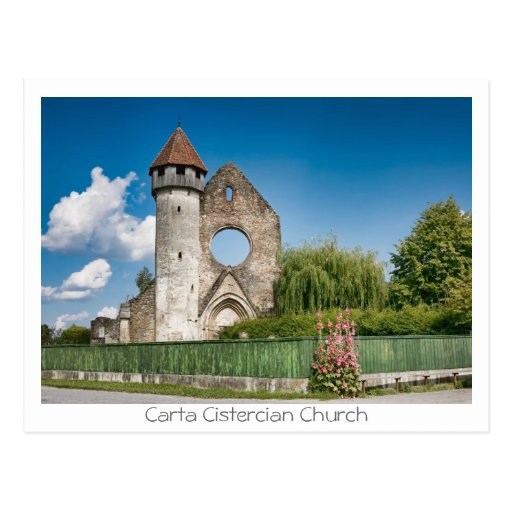 Carta Cistercian Church Postcard