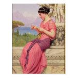 Carta de amor del Le, 1913 Postales