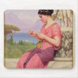 Carta de amor del Le, 1913 Tapetes De Raton