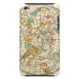 Carta de estrella del cielo y mapa meridionales de iPod Case-Mate cárcasa