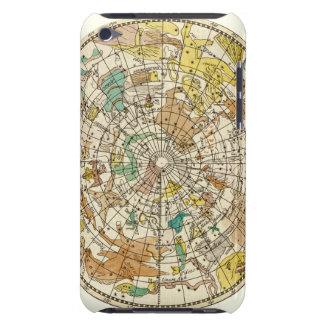 Carta de estrella del cielo y mapa septentrionales iPod touch Case-Mate funda