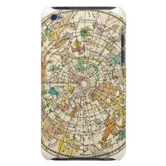 Carta de estrella del cielo y mapa septentrionales barely there iPod cobertura