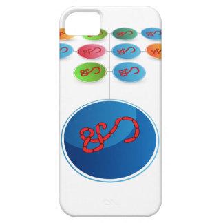 Carta de la extensión del virus funda para iPhone SE/5/5s