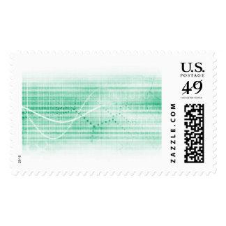 Carta de la investigación científica para el arte sello