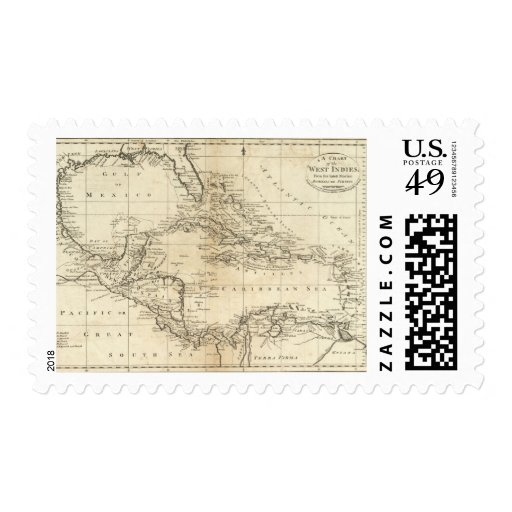 Carta de las Antillas 2 Franqueo